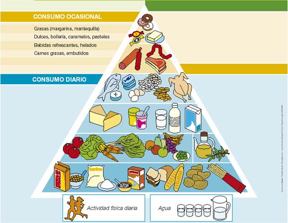 Murciasalud - Piramides de alimentos saludables ...
